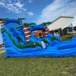 Blue Hurricane Water Slide
