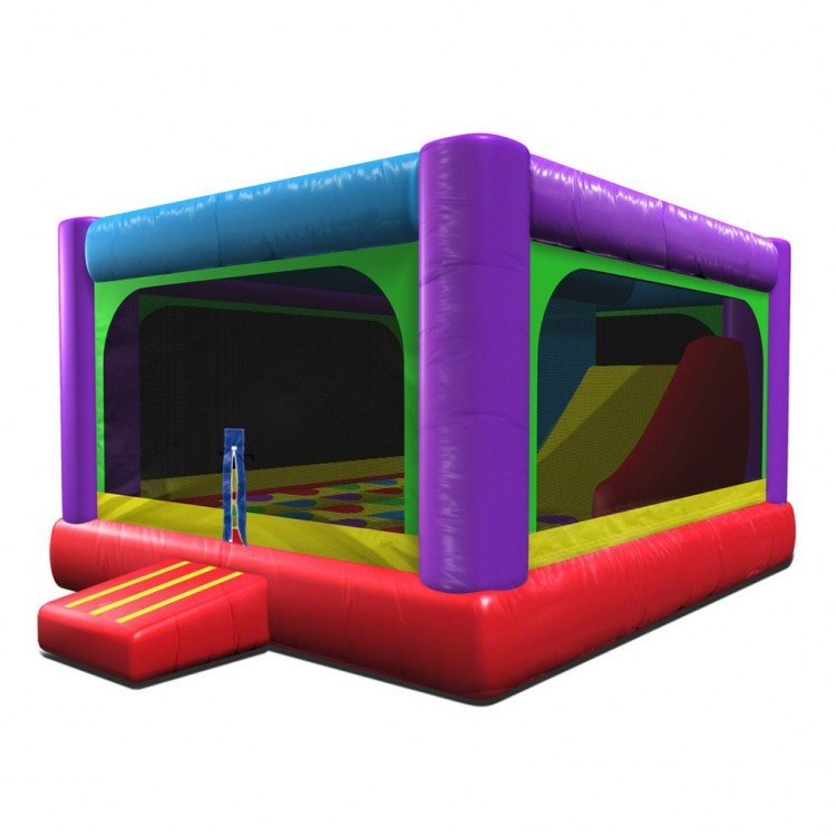Bounce House Slide Combination