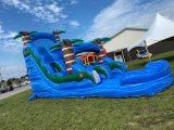 Blue Hurricane Water Slide