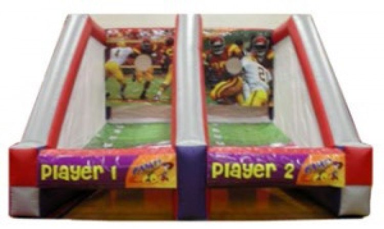 Two Player Football Toss
